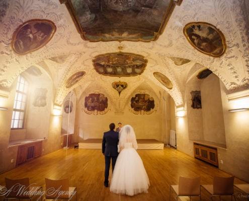 Wedding in Baroque Refektory