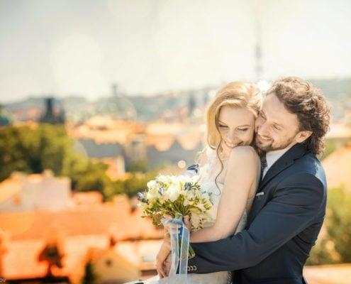 Wedding in the Vrtbovska Gardens