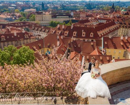 Свадьба в Замке Глубока над Влтавой