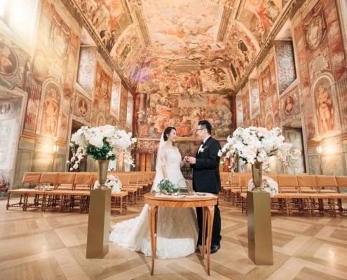 Свадьба в Замке Троя