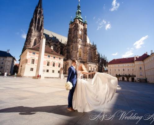 Свадьба в соборе святых Кирилла и Мефодия