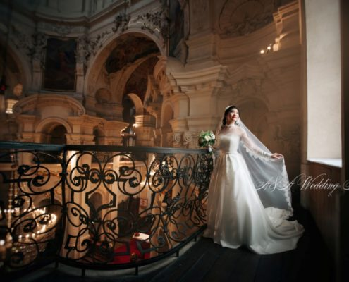 Свадьба в Тройском замке и в церкви Святого Николая